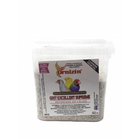 Ornizin 4Kg Grit Excellent Supreme Con Carbon Cubo. comprar en priego de cordoba