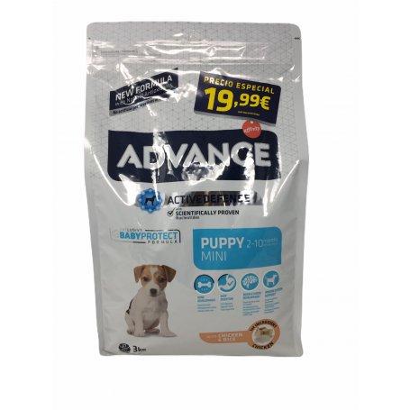 Advance 3Kg Mini Puppy Pollo Y Arroz, el mejor pienso para perros en priego de cordoba