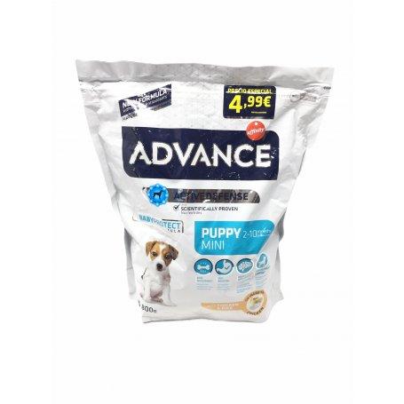 Advance Mini Puppy 0,8 Kg, mi perro es feliz en priego de cordoba