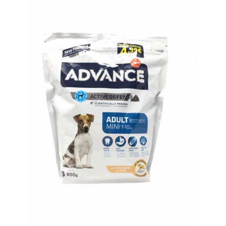 Advance Mini Adult 0,8 Kg, el pienso que mas gusta a mi perro en priego de cordoba