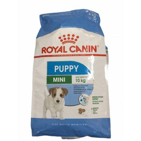 Royal Canin 4Kg Mini Junior, perros alegres en priego de córdoba