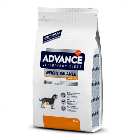 Advance 1,5Kg Weight Balance Mini - pienso para perder peso de los perros