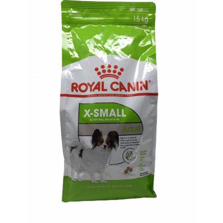 ROYAL CANIN 1,5KG X-SMALL ADULTT, lo mejor para mi mascota en priego de cordoba