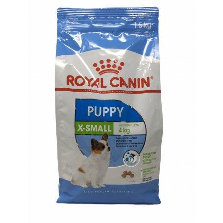 ROYAL CANIN 1,5KG X-SMALL JUNIOR PIENSO CACHORROS, energia para mi perro en priego de cordoba