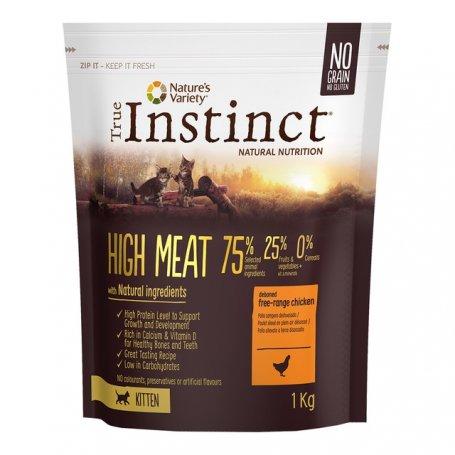 Pienso Para Gatitos True Instinct High Meat Kitten Chicken 1Kg en priego de cordoba