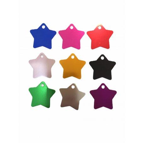 Medalla Estrella 36 X 36 Cm De Aluminio Colores Surtidos tienda priego