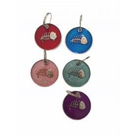 Medalla Redonda 25 X 25Mm Raspa Pez Solores Surtidos en priego de cordoba