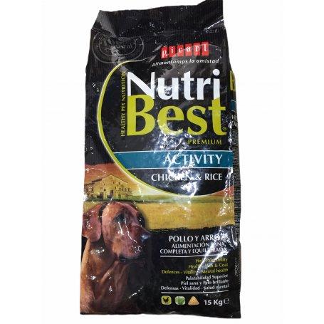 NUTRIBEST ACTIVITY 15 KG PICART, energia para mi perro en priego de cordoba