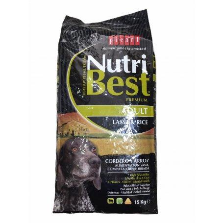 NUTRIBEST CORDERO Y ARROZ 15 KG PICART, nutricion saludable para mi perro en priego de cordoba