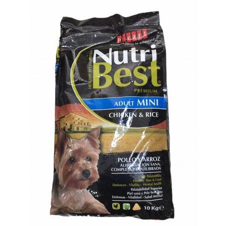 NUTRIBEST MINI 10KG- PIENSO PARA PERROS MINIS, perros libres de parasitos en priego de cordoba