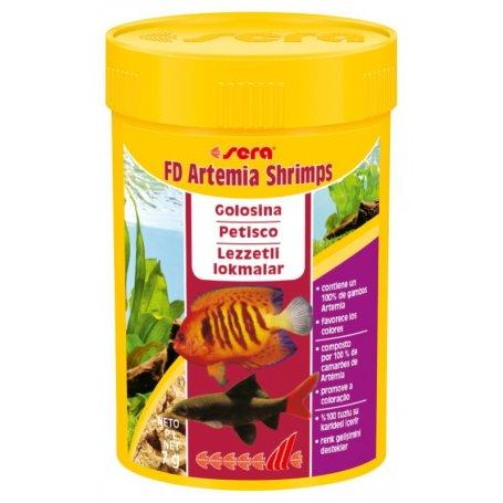 Sera Fd- Artemia Shrimps 100 Ml 7Gr en priego de cordoba tienda de peces