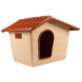 Caseta con tejado perros pequeños 60x50x41cm - Cuccia Sprint Mini