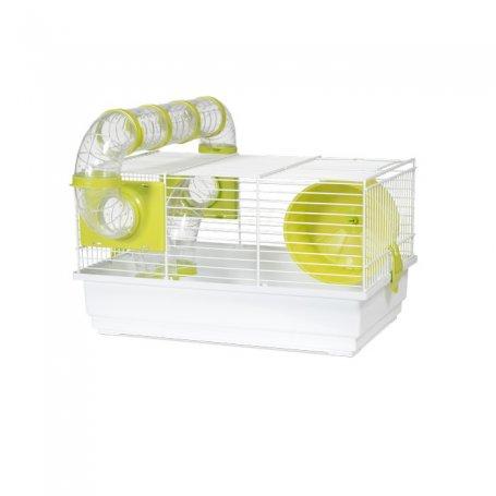 Jaula Hamster Modelo 915 Blanca Voltegra especial para hamster roborosky, hamster rusos y hamster comun