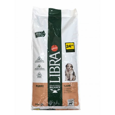 Libra Dog Junior Cordero 15Kg pienso perros Affinity