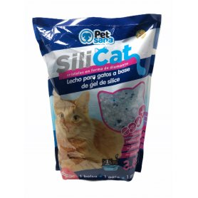 Arena Silice Higienica Absorbente Para Gatos 3,8L Dapac arena de gatos sin olor