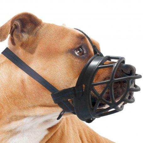 Bozal Basket Talla 5 - Bozal Super Comodo X L para perros peligrosos homologado