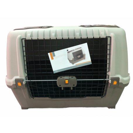 Transportin Skudo Car 90 Medidas 89 * 51 * 60 Cm con la forma de los maleteros y puerta frontal