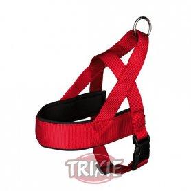 Petral nylon Confort, M-L: 53-66 cm,40 mm, Rojo