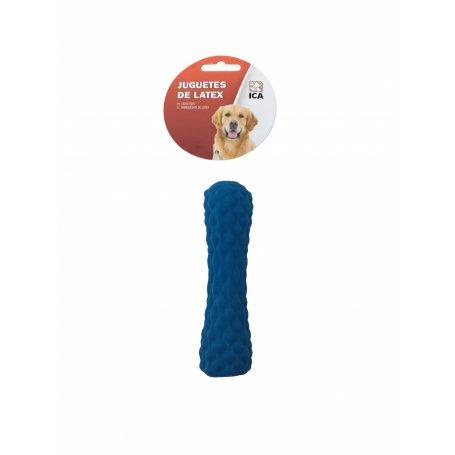 Cilindro Latex Azul 13 Cm Juguete Sonoro Para Perros