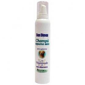 Champú 200ml espuma seca para cachorros - San Dimas