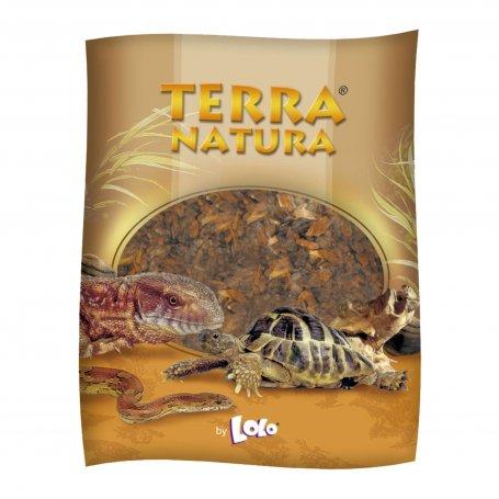 Sustrato Corteza Pino Fino 4 Lt Para Reptiles  Terra Natura