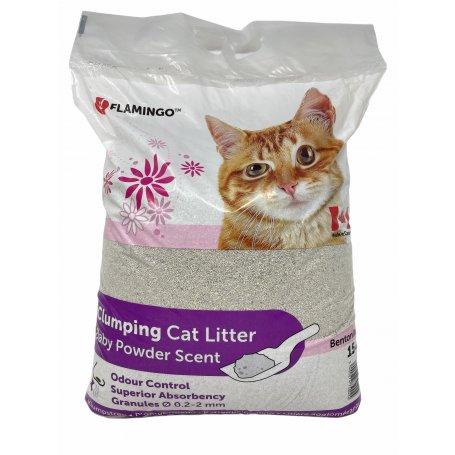 Arena Aglomerante Bentonita Para Gatos Clumpling Cat Litter 15Kg