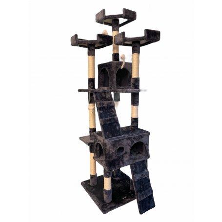 Rascador Para Gatos Nilo Cat Tree Gris 170 X 50 X 50 Cm