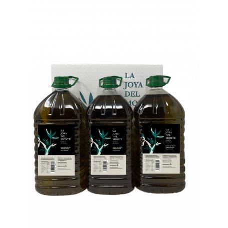 La Joya Del Monte Aove Caja 3 X 5 Litros comprar caja de aceite de priego de cordoba