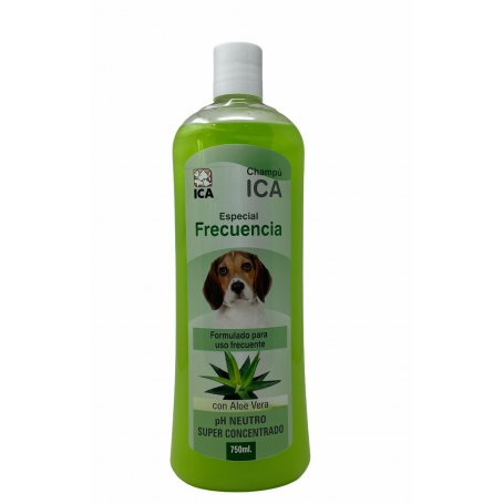 Champu Uso Frecuente 750Ml Con Aloe Vera - Ica peluquería canina en Priego de Córdoba