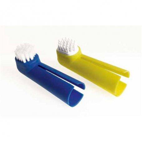 Cepillo dental masajeador uso con dedos (2 Unidades)