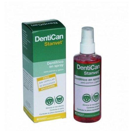 Dentífrico Spray 125ml Dentican para perros y gatos