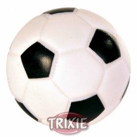Pelota futbol, vinilo, con sonido, ø 6 cm - Trixie