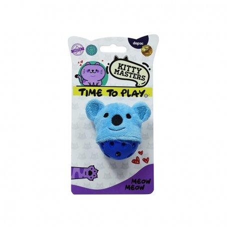 Juguete Gato Kitty Masters Koala Pelota Sonido 5Cm