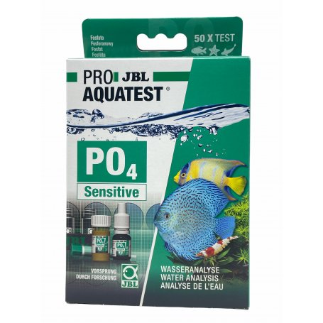 Jbl Proaqua Tst Po4 Fosfato Sensitive - Analisis De Agua Para Acuarios