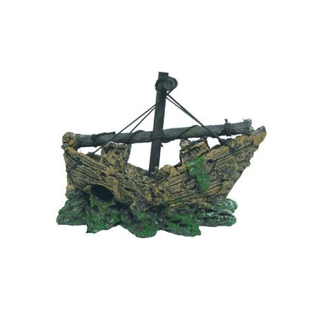 Barco pequeño pesquero hundido - ICA