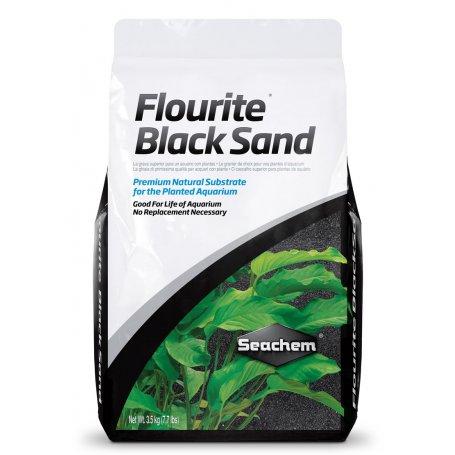 Seachem Flourite Black 7Kg Sustrato Superior Para Acuarios Plantados