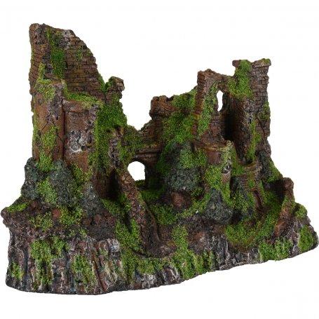 Castillo En Ruinas 28 X 13 X 20 Cm Decoracion Para Acuarios