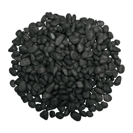 Grava Negra Mate no tóxica 7MM 2 KG