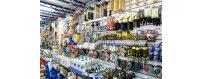 Productos de ferretería y hogar, para piscinas, siliconas, guantes y detergentes