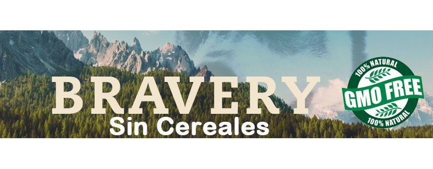 Pienso Bravery Grain Free Natural Sin Cereales
