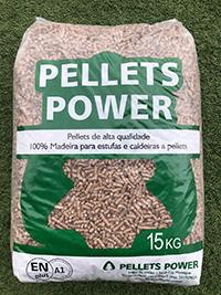 Pellet Enplus A1 Certificado Saco 15Kg + Poder Calorifico al mejor precio en priego de cordoba. comprar pellet de estufas en priego de cordoba