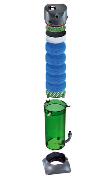 Desglose del filtro eheim classic 150, un filtro de una calidad extraordinaria para acuarios de hasta 150 litros con buen precio y las mejores opiniones