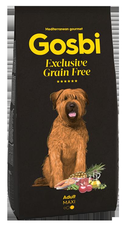 El Pienso Gosbi Grain Free es uno de los mejores alimentos para perros del mercado, aportando a tu mascota un alimento sano y natural 100% respetando su instinto natural de alimentación