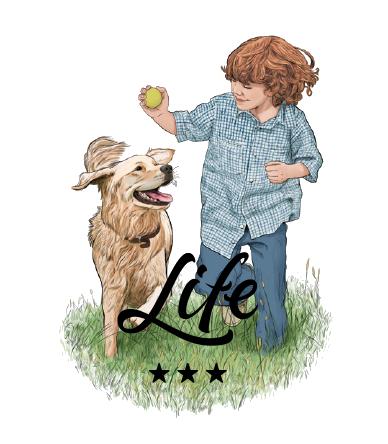 La gama Life de Gosbi que aporta a tu perro los nutrientes necesarios para una alimentación completa.