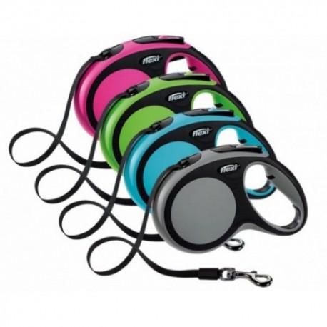 Gama completa de colores y tamaños de correa extensible Flexi Comfort Cinta
