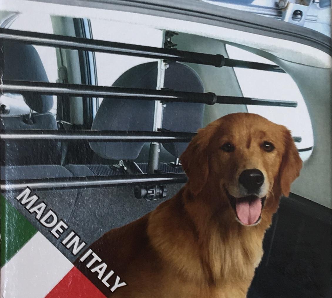 Divisor Coche De Mascotas Portatil Para Reposacabezas