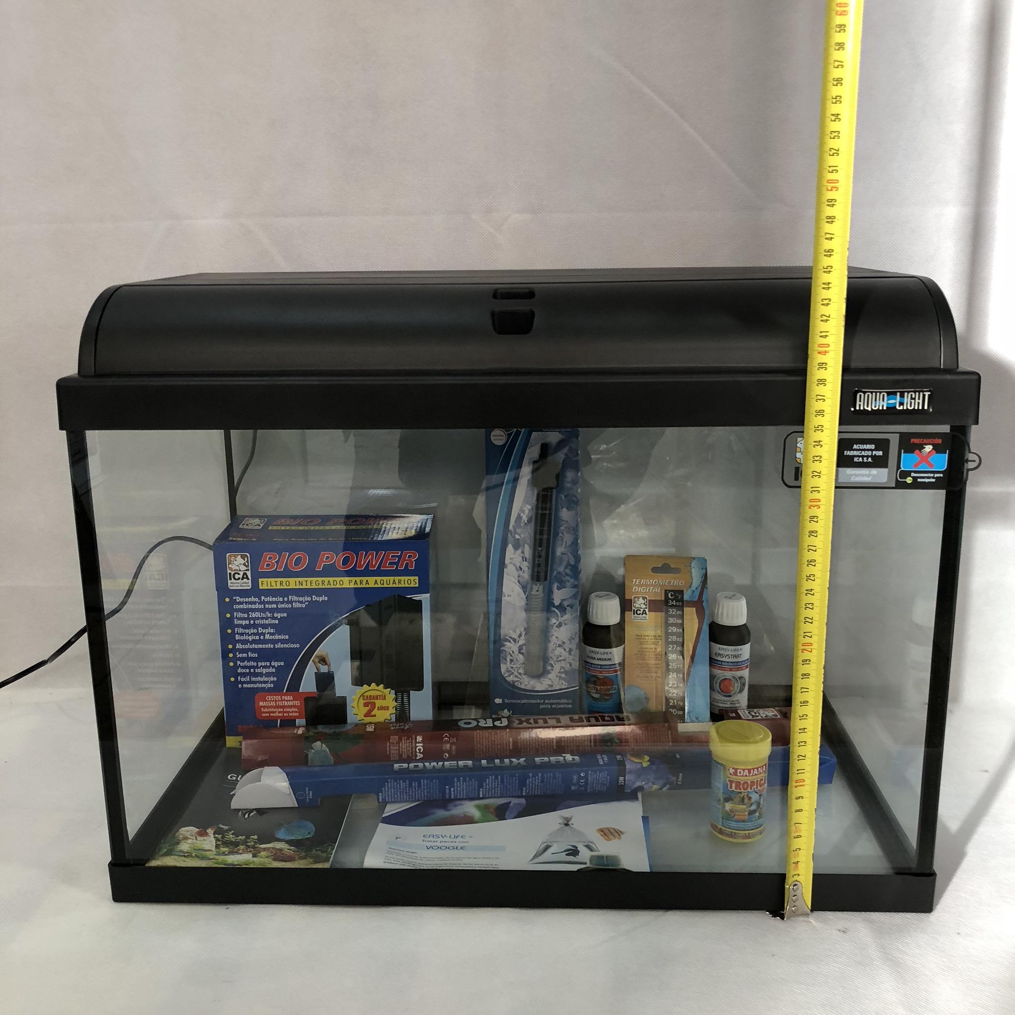 medidas del acuario 801 litros