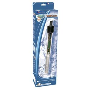 termocalentador de 250 watios que trae este kit  acuario de 240 litros aqua-led que vendemos a buen precio y en oferta en aquarium terramar de Priego de cordoba.