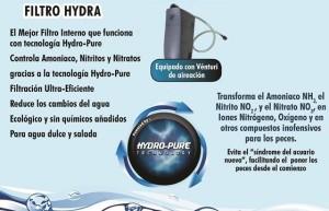 La mejor conbinación en el nuevo kit acuario marino hydro pure.