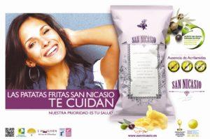 Patatas Fritas Saludables San Nicasio